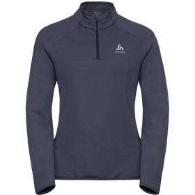 Odlo Carve Warm 1/2 Zip Midlayer Women odyssey gray